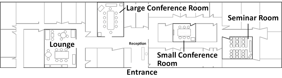 Floor plans tkp conference center taiwan taipei for Banquet room layout planner